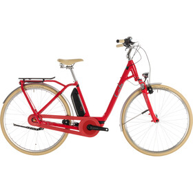 Cube Elly Cruise Hybrid 400 Easy Entry Women red'n'mint